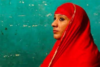 India: The Muslim woman who was not a military became a security guard