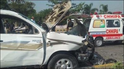 Peshawar: Suicide attack on the Frontier Corps, 2 soldiers martyred