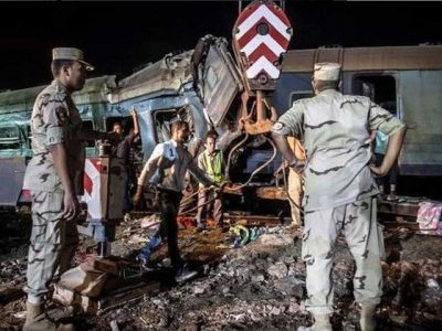 44 people were killed, 180 injured from trains collision in Egypt