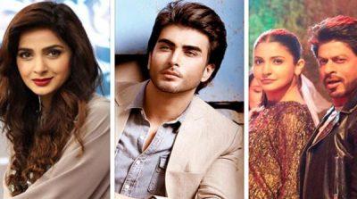 "Pakistani actors began to cite the praises of the film ""Jab Harry Met Sejal"""