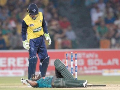 The imprisonment and heat worsened the cricketer and the audience