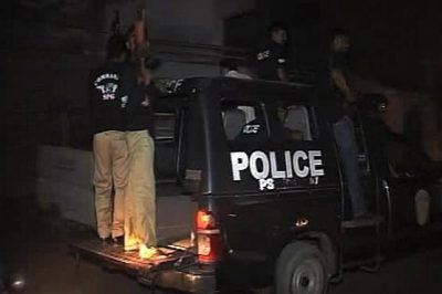 KARACHI: The search operation in different areas of the police, 15 suspects arrested