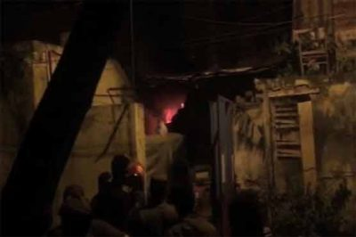 Lahore: Burning important records burn fire in Faisal Town police station