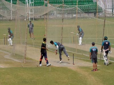 Pakistani team rest, today practice session and Trophy will be held