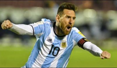 Messi hat trick reached Argentina to the World Cup