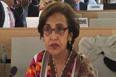 Tehmina Janjua meeting to the Russia special representative, discusses important issues