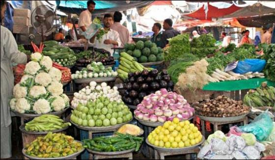 Crackdown against expensive vegetable sellers in Peshawar