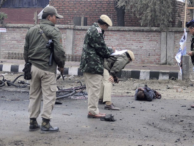 Bomb blast kills 3 soldiers in Indian state Manipur