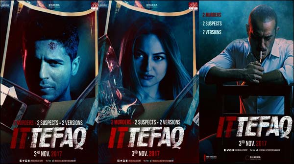 Courts notice to Shahrukh and Karan johar film 'Ittefaq'