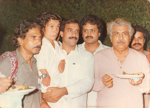 Legendary, Pakistan Peoples Party, Leaders, Jehangir Baddar (Late) with, Qazi Sultan (Late) and others