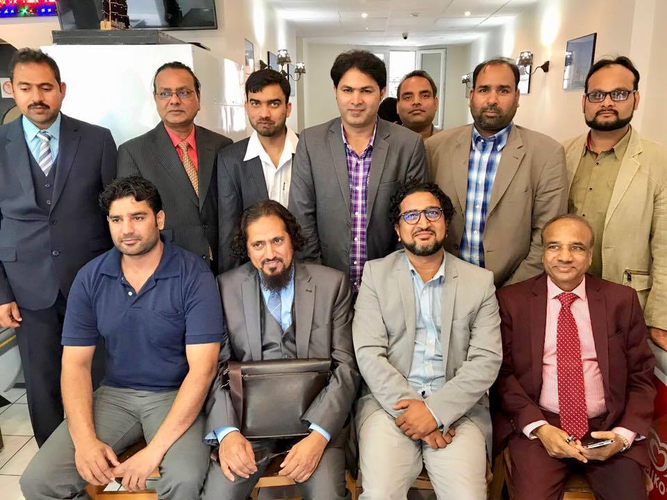 Group Photo, of, the Participants, at, Iqbal Day, Mehfil e Musharia, organized, by, Bazam e Ahl e Sukhan, Paris, France,