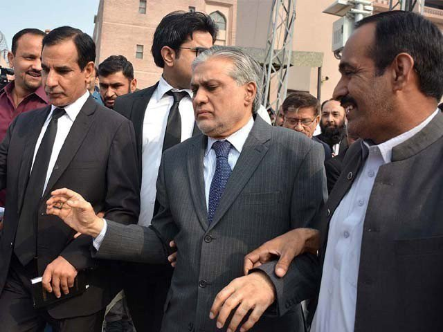 Assets reference hearing; Finance Minister Ishaq Dar was not present