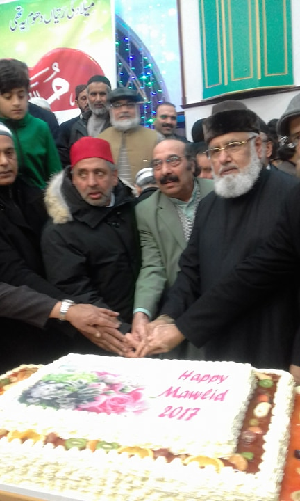 M.K.Pervez, Chaudhry, at, Jashan e Eid, Milad un Nabi. S.A.W.W, at, Minaj ul Qruan, International, France