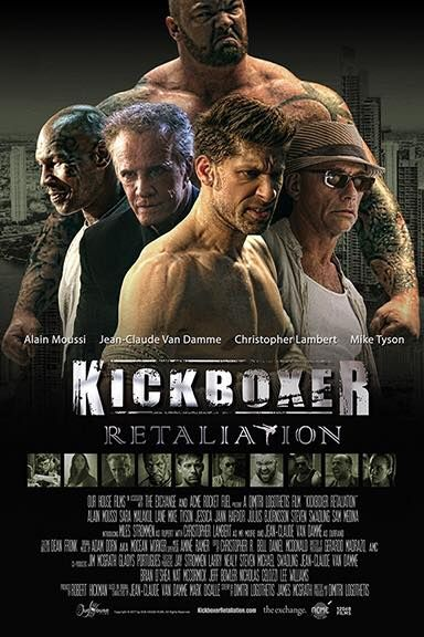"New trailer released of movie ""Kickboxer; retaliation"""