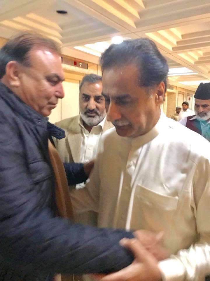 Ex-President, Pakistan, Muslim, League, Noon, France, Javed, Akhtar, Butt, visited, parliament, house, meet, to, sardar ayaz sadiq, speaker, national, assembly, congratulated, on, historical, FATA, bill