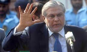 PML-N candidate former finance minister Ishaq Dar rejects nomination papers