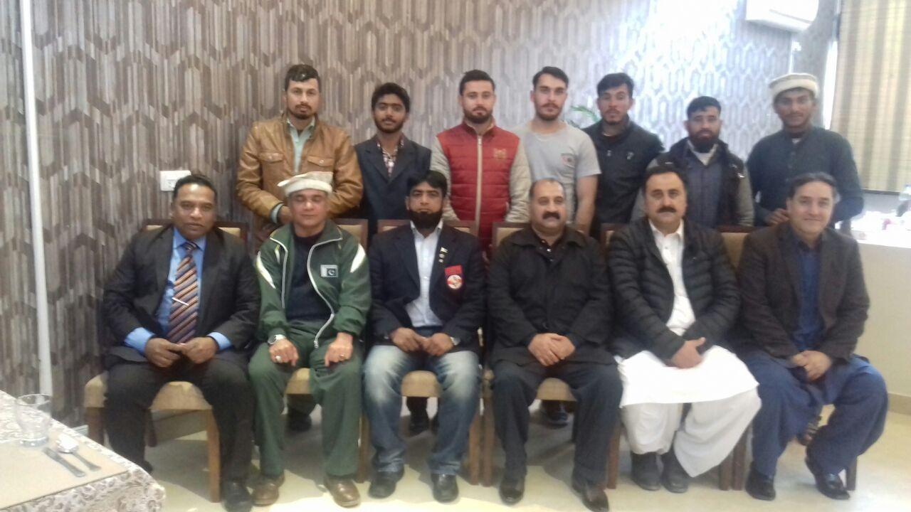 Pakistan player will participate starting from April 14 in Japan President So ku kushan karatay federation Pakistan grand master, Shahan raja khalid