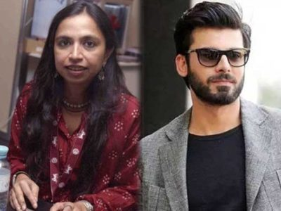 INDIAN, AWARD, HOLDER, FILM, PRODUCER, WISHES, TO, CAST, FAWAD KHAN, IN, HER, FILM