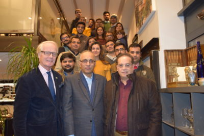 The Ambassador of Pakistan to France Moin ul Haque