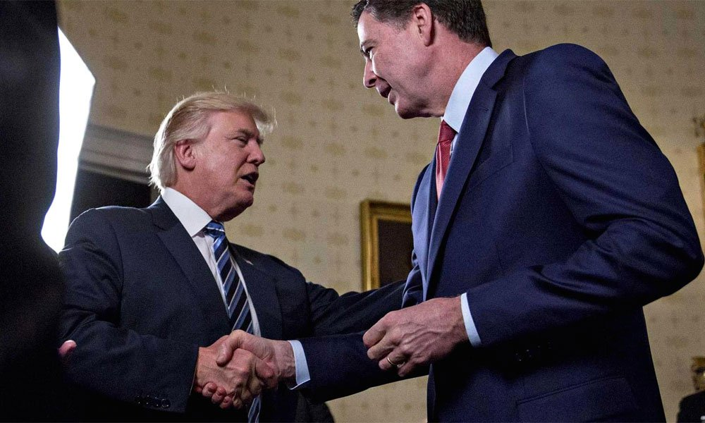 The trumpet is not fit for morality, former FBI chief