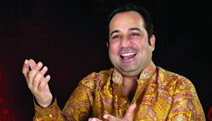 Why did not Rahat Fateh Ali sing 'Gandhi' song?