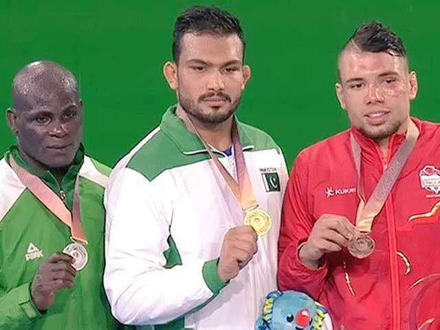 Pakistan won the Commonwealth Games first gold medal