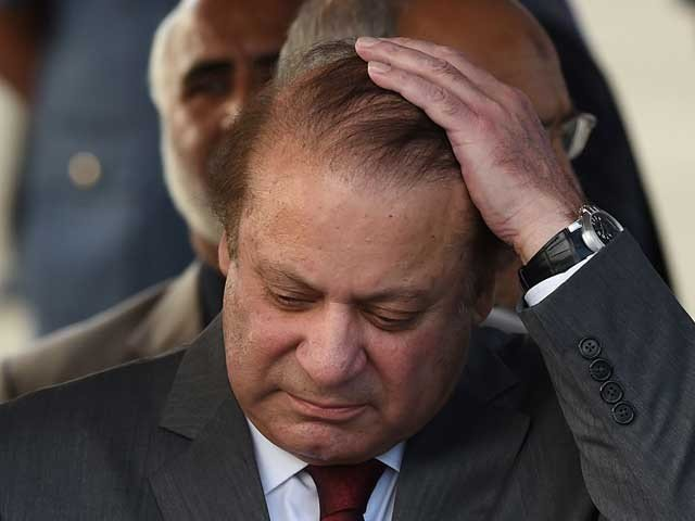 Nawaz Sharif was upset from darkness in court room during the hearing of NAB references