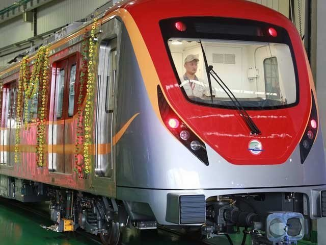 Orange Line train travel for Lahorion free for a day
