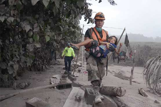 Guatemalan: The deaths of volcanic erosion have been killed in 114