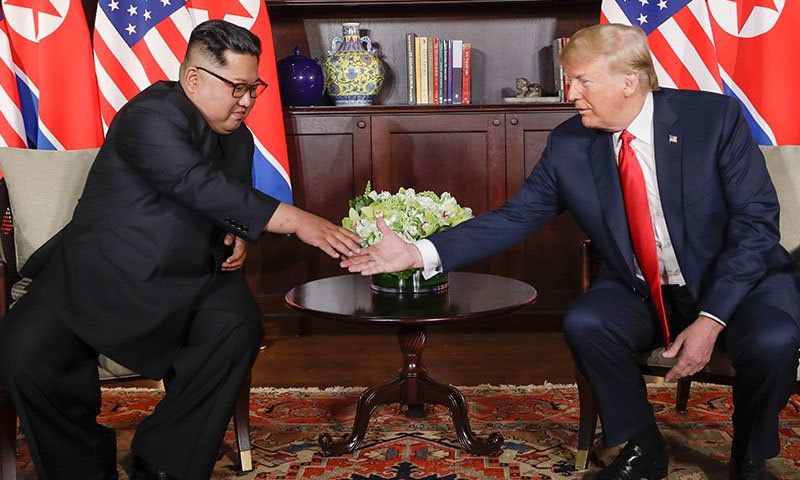 The meeting between US President Donald Trump and North Korean Supreme Leader Kim Jong-un was historical declared