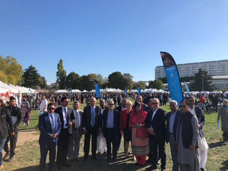 Paris, Pakistan, mela, 2nd, edition, ended, very, successfully, Abdul Qadeer, president, organizing, committee, Pakistan Mela, france,, on, successful, Pakistan mela, and, thanked, the, participation, of, PTI, leaders, Ibrar ul Haq, and, senator, faisal javed khan
