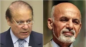 Sharif, and, Ashraf Ghani, issued, a ,declaration ,of, Astana, meeting