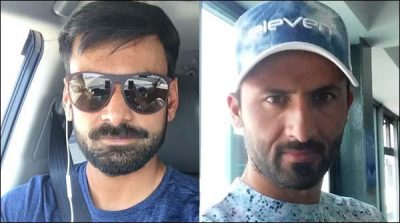 Mohammad Hafeez and Junaid Khan returned home
