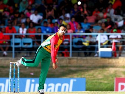 The stunning bowling of the Mohammad Hafeez in the Caribbean Premier League