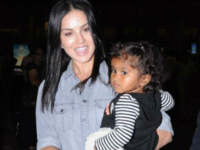 Sunny Leone became worried to protect her daughter