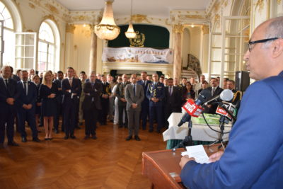 53rd, DEFENSE, DAY, OBSERVED, AT, EMBASSY, OF, PAKISTAN, IN, PARIS, AMBASSADOR, MOEEN, UL HAQ, ADDRESSED, THE, PARTICIPANTS
