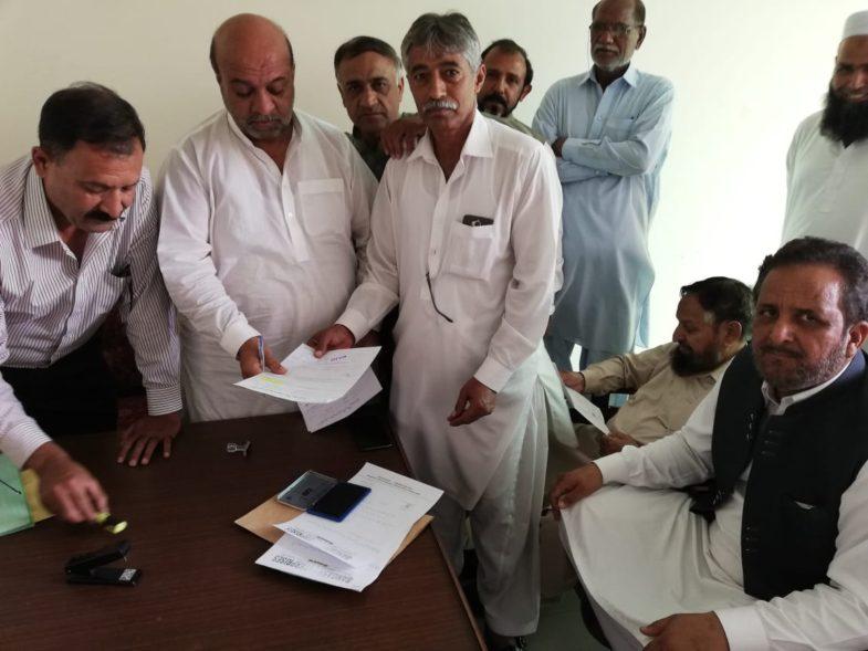 report, muddasir iqbal kazim, about, upcoming, elections, of, Rawalpindi, Custom, Agents, Association, special , interview, from, ex-Gen Secretary, and, senior, member, Akhtar Hussain Bukhari