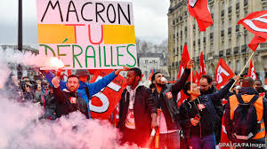 peoples, protesting, against, mamacron, policies, and, increasing, oil, prices, in, France, Pak, embassy, and, other, important, offices, will, remain, closed, on, saturday