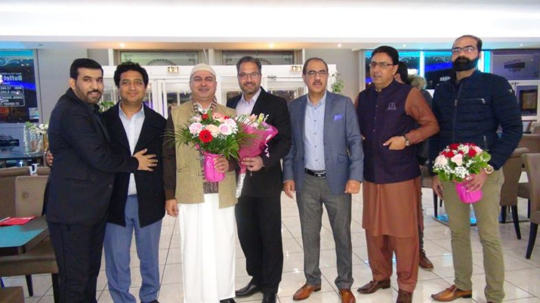 sheikh Naimat ullah, Vice Chairman, PTI, France, performed, Umrah, and, on, return, arranged, grand, dinner, in, favor, of, friends