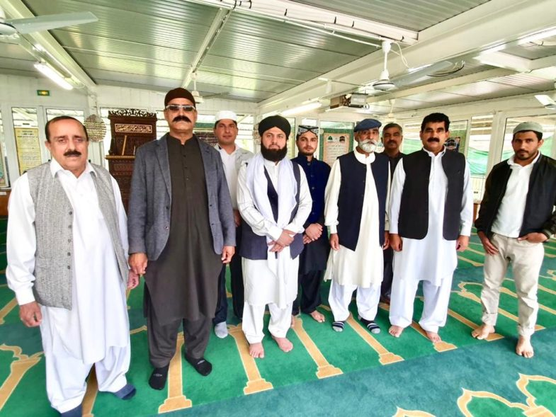 haji liaquat ali sher ismaila, arranged, condolence, reference, and, and, prayer, for, usama qamar kaira, and, hamza butt