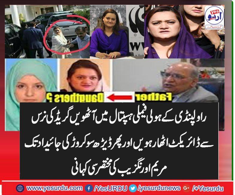 ex-information,minister, maryam aurangzeb, short, history