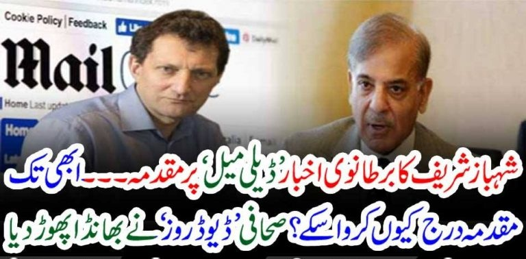 SHEHBAZ SHARIEF, FILED, CASE, AGAINST, DAILY MAIL, NEWS, CHANNEL, WHO, PUBLISHED, STORY, OF, HIS, CORRUPTION, IN, FLOOD, RELIEF, FUND, AND, MONEY, LAUNDERING