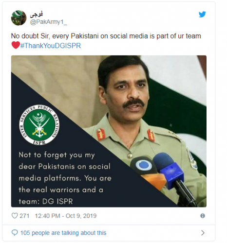 DG, ISPR, SHARES, ON, TWITTER, HIS, CREATIVE, SNAPS, MADE, BY, PAKISTANIS, HE, IS, THE, HERO, OF, PAKISTAN