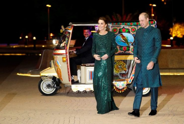 Prince, William, is, real, life, Prince, says, Mehwish Hayat, famous, Pakistani, actros, and, actresses, meet, him, at, the, party