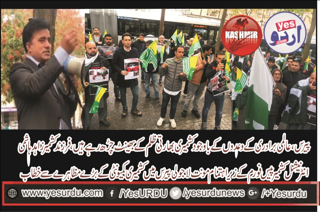 GREAT, PROTEST, AT, MOUNT LA JOLI, MERI, PARIS, IN, SUPPORT, OF, KASHMIRIS, AND, TO, AWAKE, INTERNATIONAL, COMMUNITY, AT, THE KASHMIR ISSUE