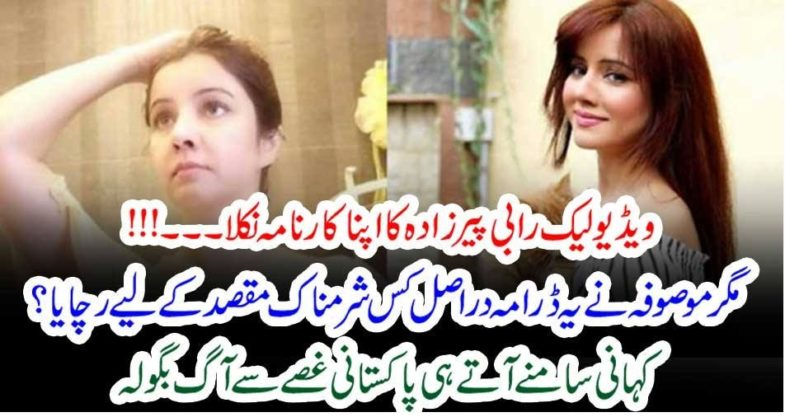 videos, viral, is, done, by, Rabi Pirzada, herself, drop, seen,of, Drama, why, she, did, this, everyone, shocked