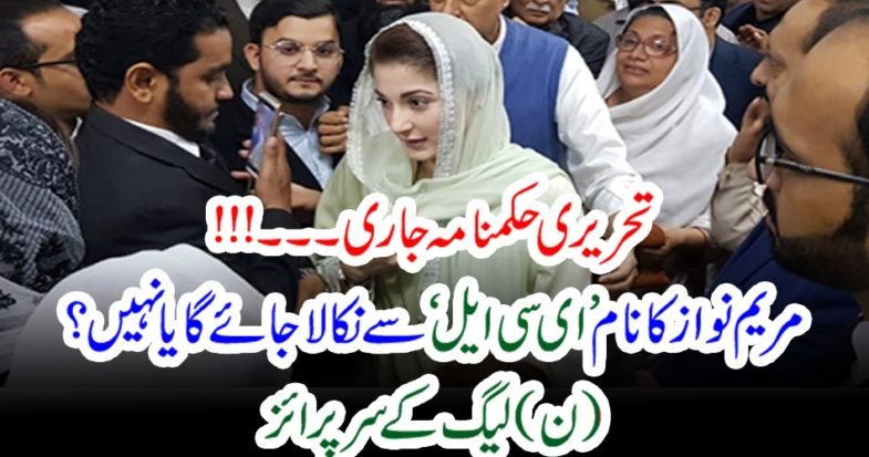 Written, order, issued, maryam nawaz can, go, out, or, not