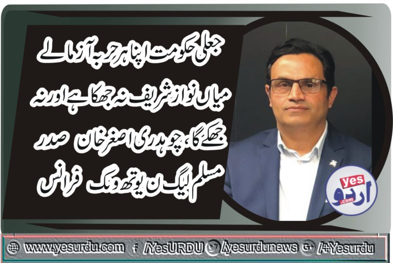ch Muhammad Asghar Khan, President, PMLN, France, says, MNS, will, not, surrender