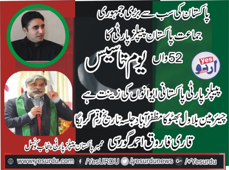Qari Farooq Ahmed Farooqi, Member, PPP, Punjab, Council