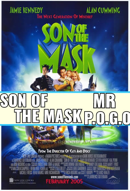 Son of the Maskis a 2005 American comedy film directed by Lawrence Guterman and starring Jamie Kennedy as Tim Avery, an aspiring cartoonist from Fringe City who has just had his first child born with the powers of the Mask. It is the stand-alone sequel to the successful 1994 comedy filmThe Mask, an adaptation of the Dark Horse Comics character of the same name which starred Jim Carrey.